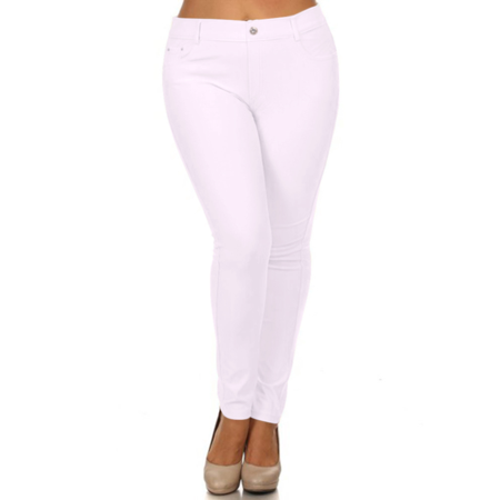 be19d0d5126 Pull On Plus Size Jeggings for Women Jegging Jeans Plus Size Fitted Jeggings  - Walmart.com