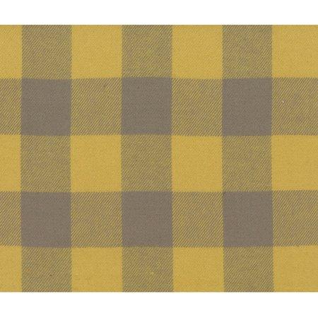 - Marcus Timeworn Tape Measure Primo Plaids Woven Flannel Gold Grey Buffalo Plaid