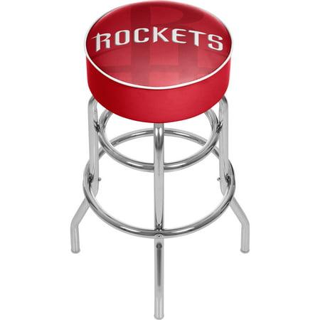 NBA Padded Swivel Bar Stool - Fade - Houston Rockets ()