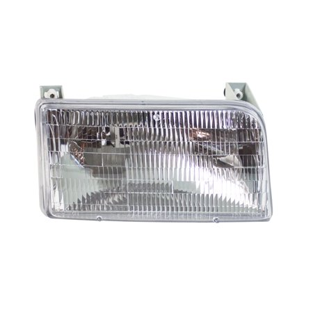 TYC 20-1934-00-9 Headlight Assembly 1992-1996 Ford Bronco 1992-1998 ()