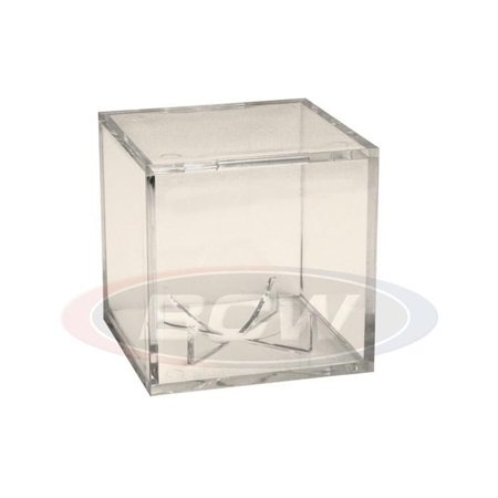 1 PRO-MOLD BASEBALL SQUARE CUBE WITH PEDESTAL (25+ YEAR