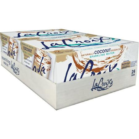 LaCroix Sparkling Water - Coconut, 2/12pk/12 fl oz Cans, 24 / Pack