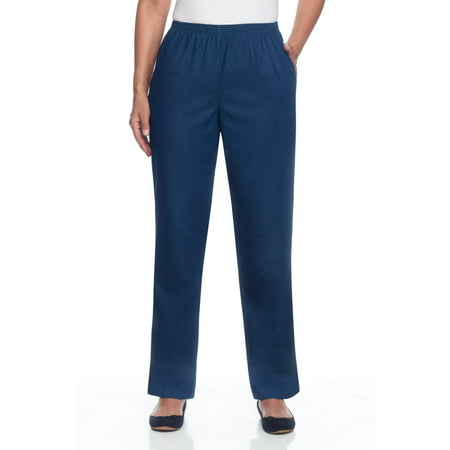 Alfred Dunner Women's Classics Denim Pants
