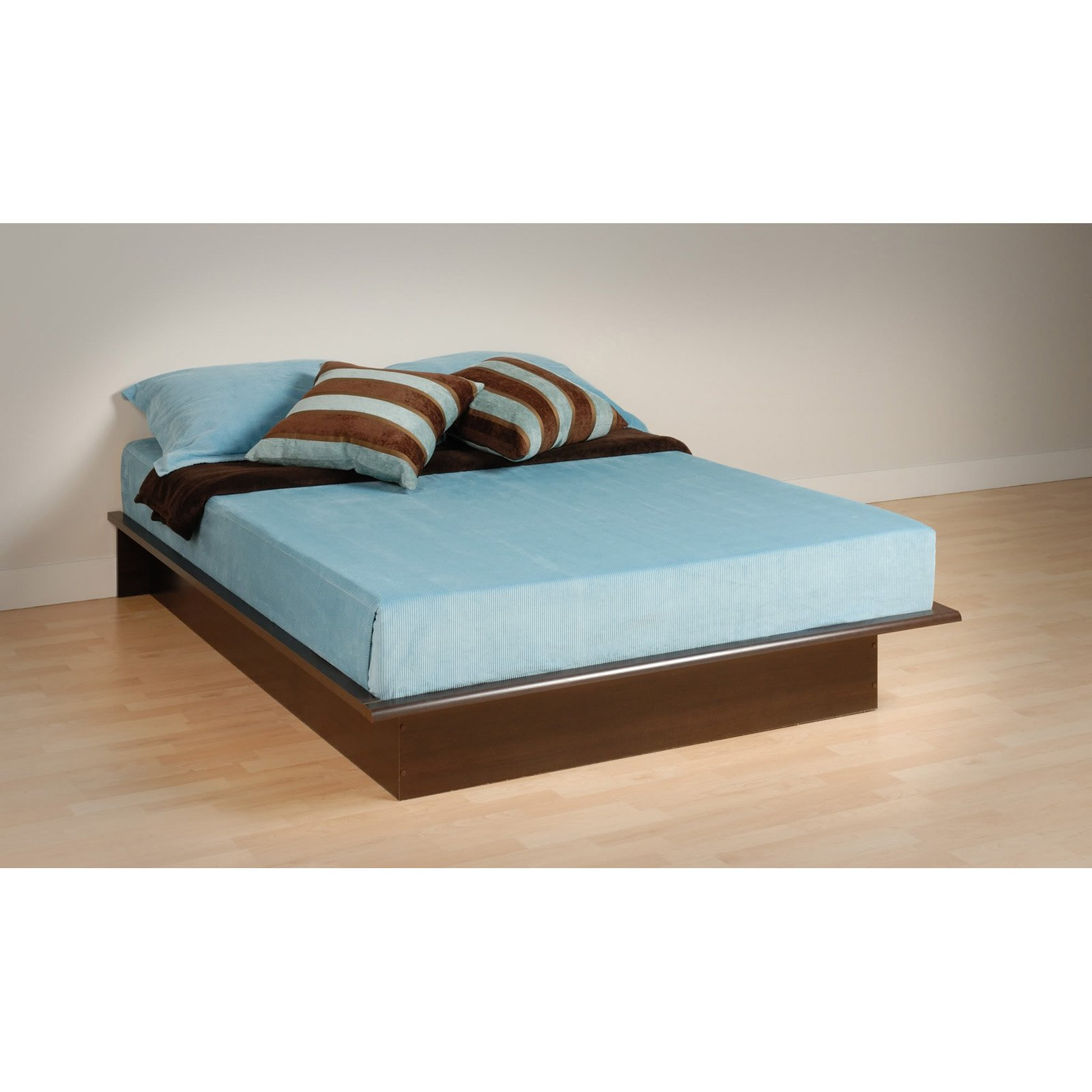 Queen Platform Bed, Espresso (Box 1 of 2)