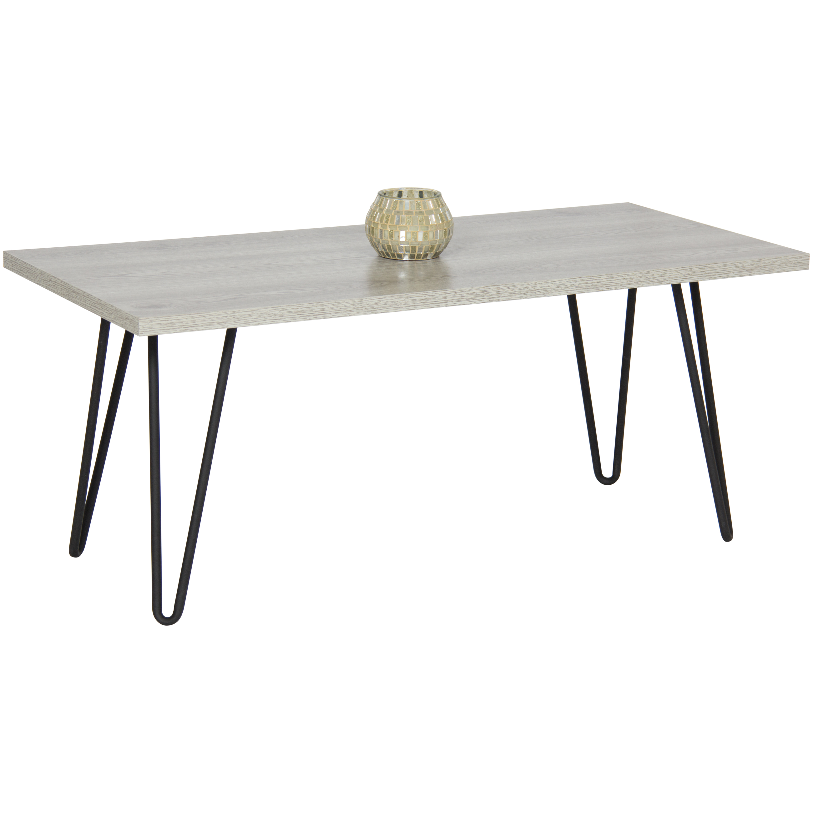 Charmant Best Choice Products Coffee Table W/ Metal Hairpin Legs