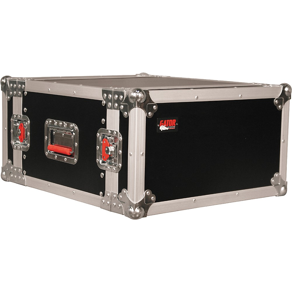 "Gator ATA Wood Flight Rack Case - 6U - 17"" Deep"