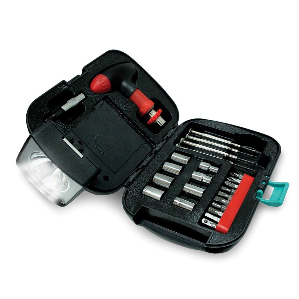 25 Piece Tool Kit and Flashlight