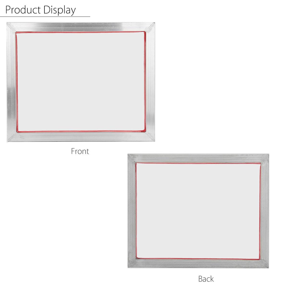 1-4X A3 41x51cm Aluminium Screen Printing Print Frame W// 43T Silk Polyester Mesh