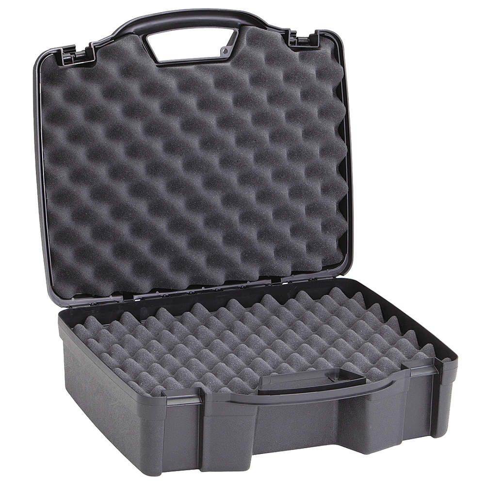 PLANO MOLDING Case, 16-3/4 In Lx14-1/2 In Wx6, Black 140402