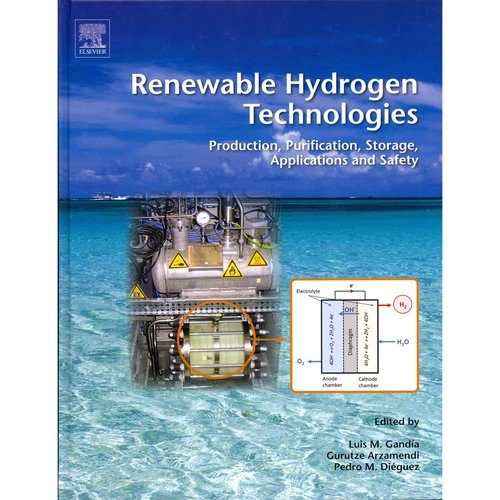 Renewable Hydrogen Technologies: Production, Purification, Storage, Applications and Safety