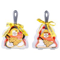 2-Pack Nestle Toll House Cookie Shaped Iron Skillets Deals