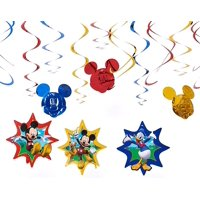 Mickey Mouse Clubhouse Hanging Party Decorations, 12pc