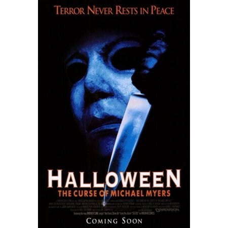 Halloween 6 Movie Poster (Halloween 6 the Curse of Michael Myers Movie Poster (11 x)