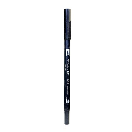 Tombow  Black Dual End Brush Pen (Pack of 12)