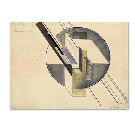Construction' Canvas Art by Gustav Klucis