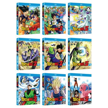 Dragon Ball Z: Seasons 1-9 (Walmart Exclusive) (Dragon Ball Z Serie Completa Audio Latino)