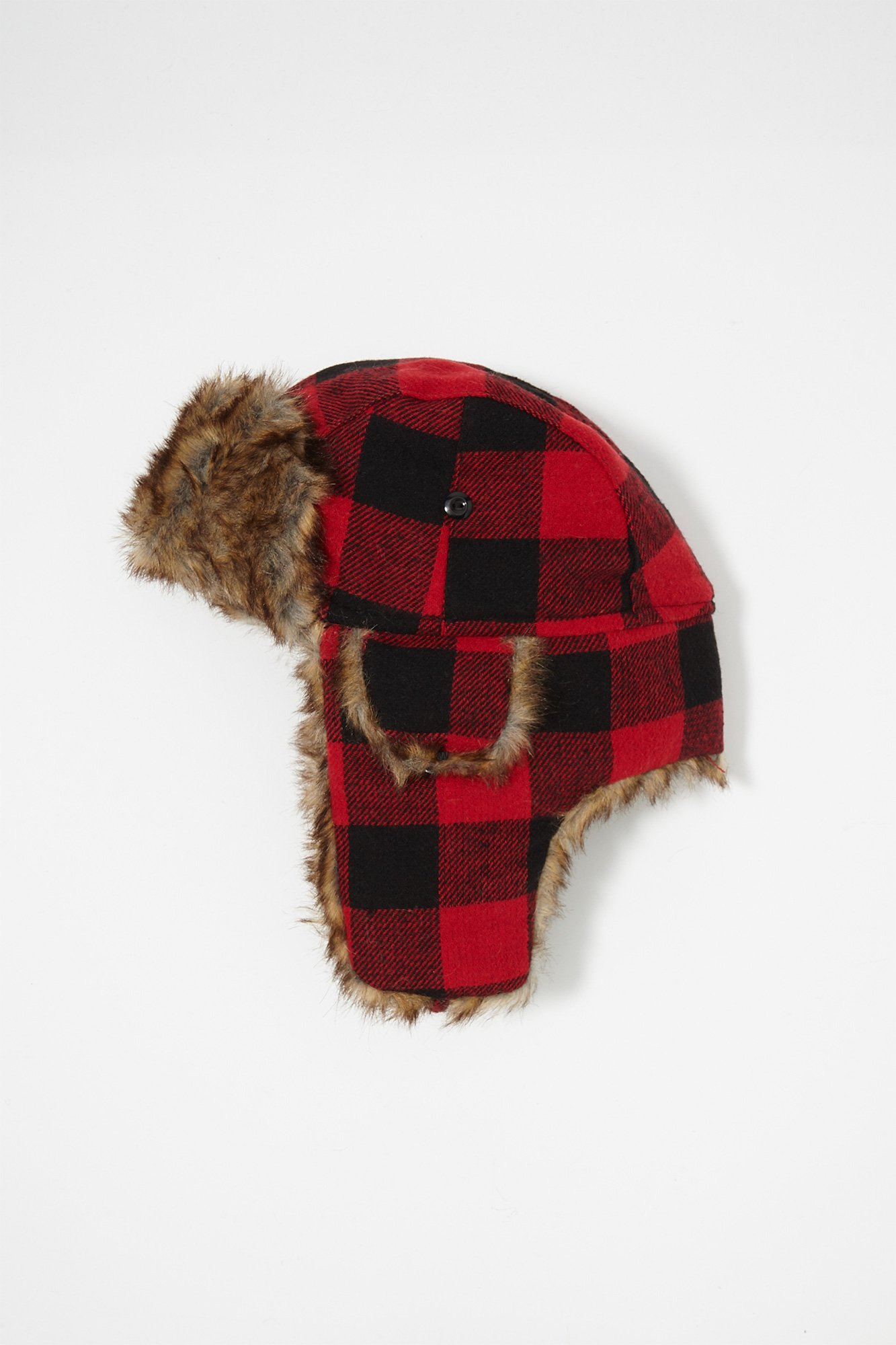 fc4e85b800e Urban Kids Youth Boy s Boys Cabin Plaid Faux-Fur Trapper Hat. By Urban  Planet. Sold and shipped by. 0 Reviews 0.0 5 stars