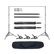 Winado Adjustable10ft Photography Background Support Stand Photo Backdrop Crossbar Kit
