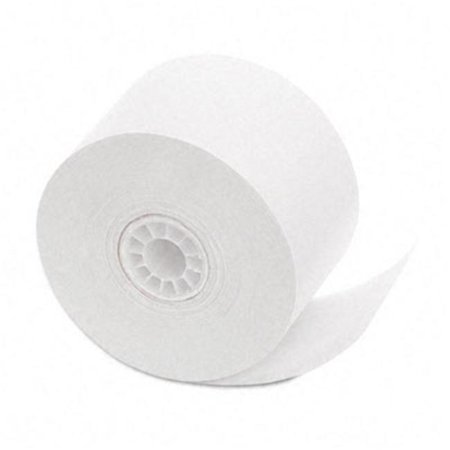 """One-Ply Cash Register/Point of Sale Rolls- 1-3/4"""" x 150 ft- White- 10/Pack"""