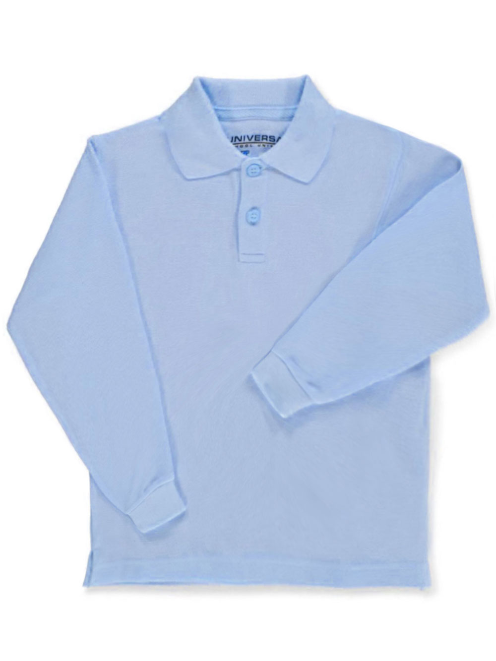 Universal Unisex L/S Pique Polo (Sizes 4 - 7)