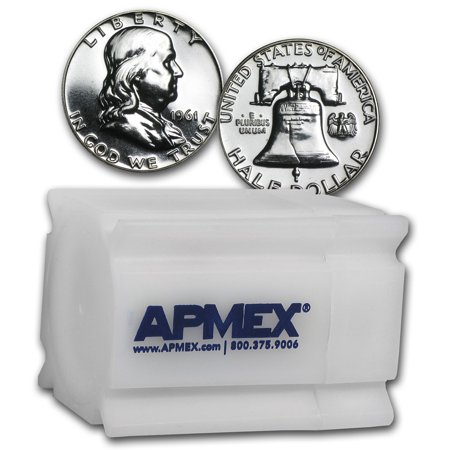 90% Silver Franklin Halves $10 20-Coin Roll Proof (Franklin Silver Proof)