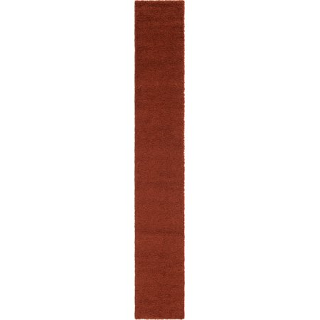 Unique Loom Solid Shag Contemporary Area Rug or Runner