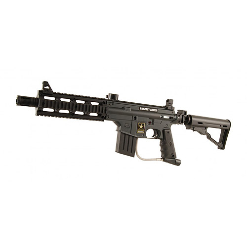 Click here to buy Tippmann U.S. Army Project Salvo Paintball Marker Gun Black by Tippmann.