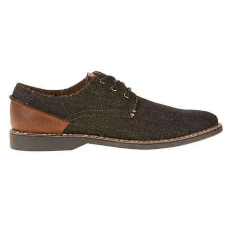 (George Men's Denim Oxford Shoe)