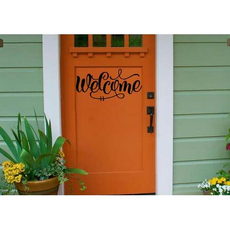 Decal ~ Welcome: #3 Wall, Door or Window Decal~ 6