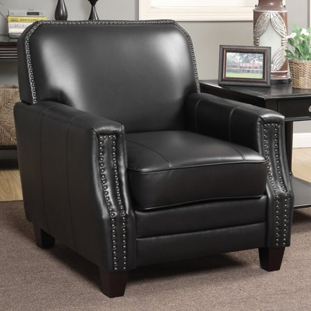 Christies Home Living Calanthe Full Grain Leather Club Arm Chair