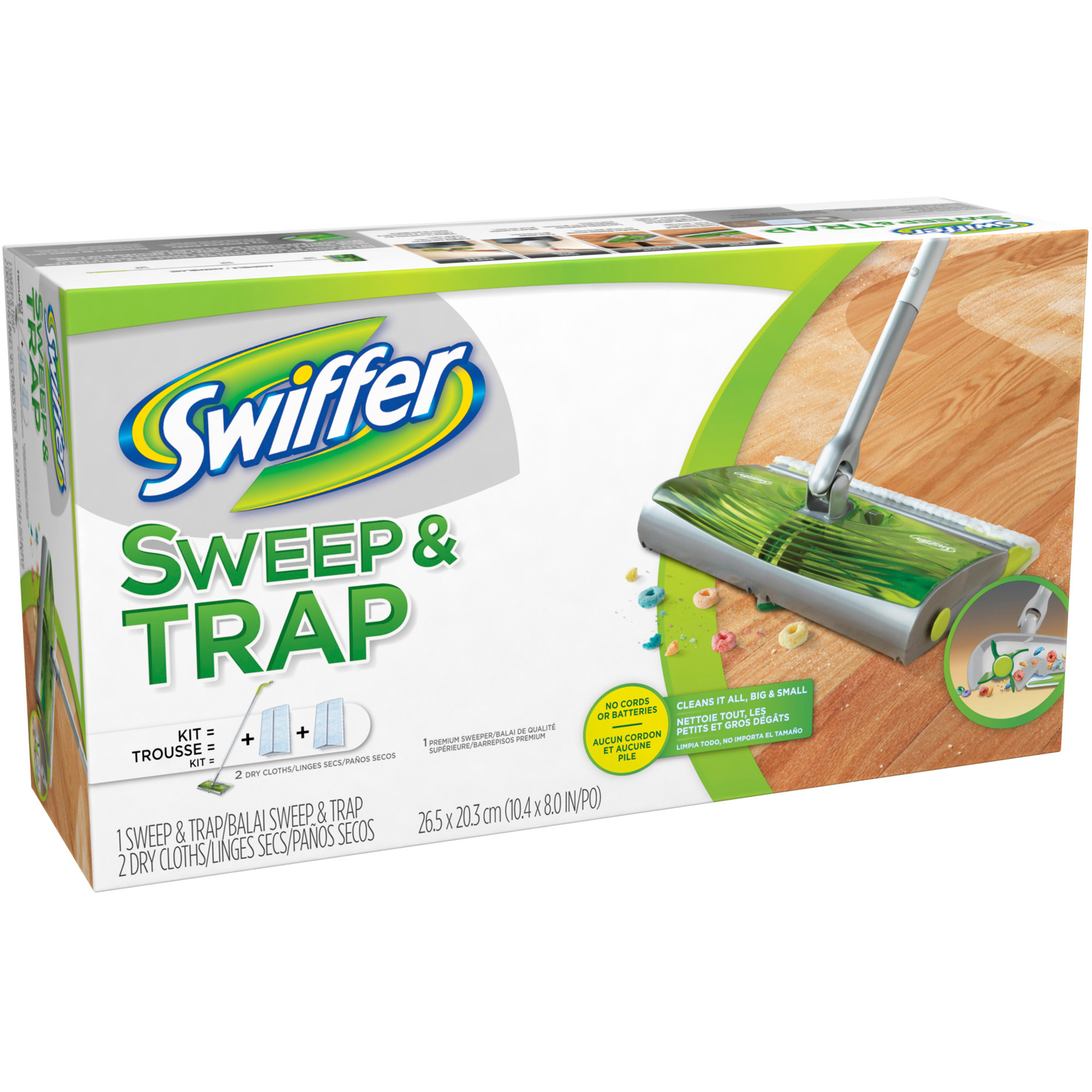 Swiffer Sweep & Trap Starter Kit