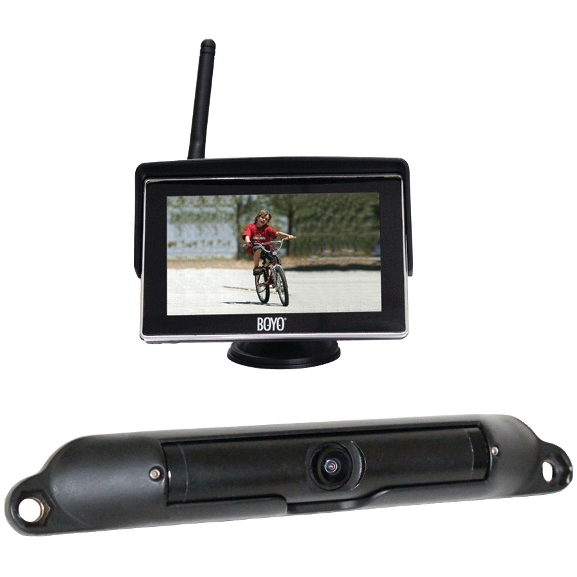 """Boyo VTC424R WiFi High-Resolution Rearview Camera System with 4.3"""" LCD Monitor"""