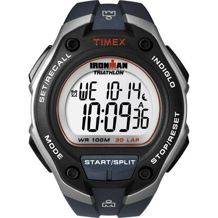 Timex Ironman Triathlon Alarm Chronograph Mens Watch T5K416