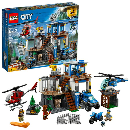 LEGO City Police Mountain Police Headquarters 60174 - Party Cits