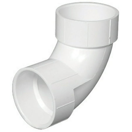 Charlotte Pipe 90 Degree Elbow Pvc Dwv 3 (Glue Pvc Piping)