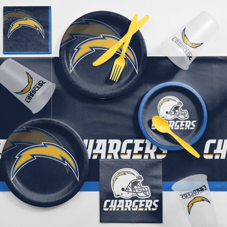 Los Angeles Chargers Game Day Party Supplies Kit - Party Supplies Downtown Los Angeles