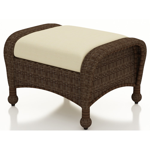 Forever Patio Winslow Ottoman with Cushion
