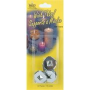 Candle Wick Tabs 12/Pkg- , Pk 6, Yaley