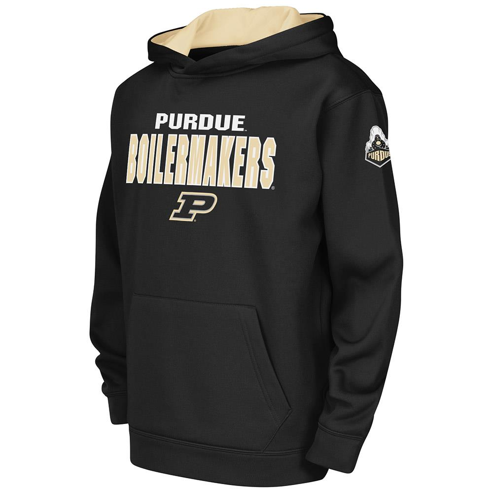 Kids NCAA Purdue Boilermakers Poly Pull-over Hoodie