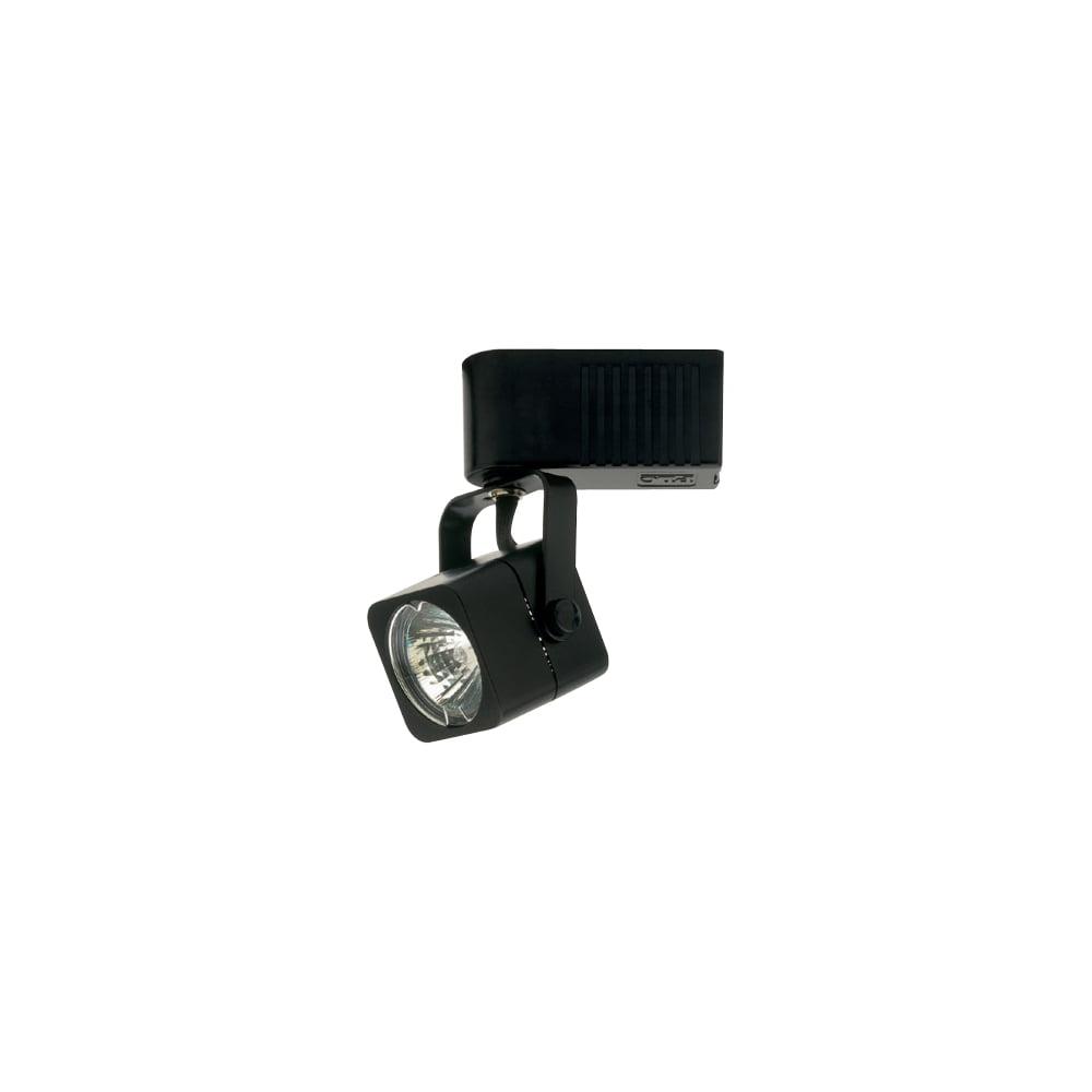 PLC Track Lighting 1 Light Echo-120v. Collection TR15 BK by PLC Lighting