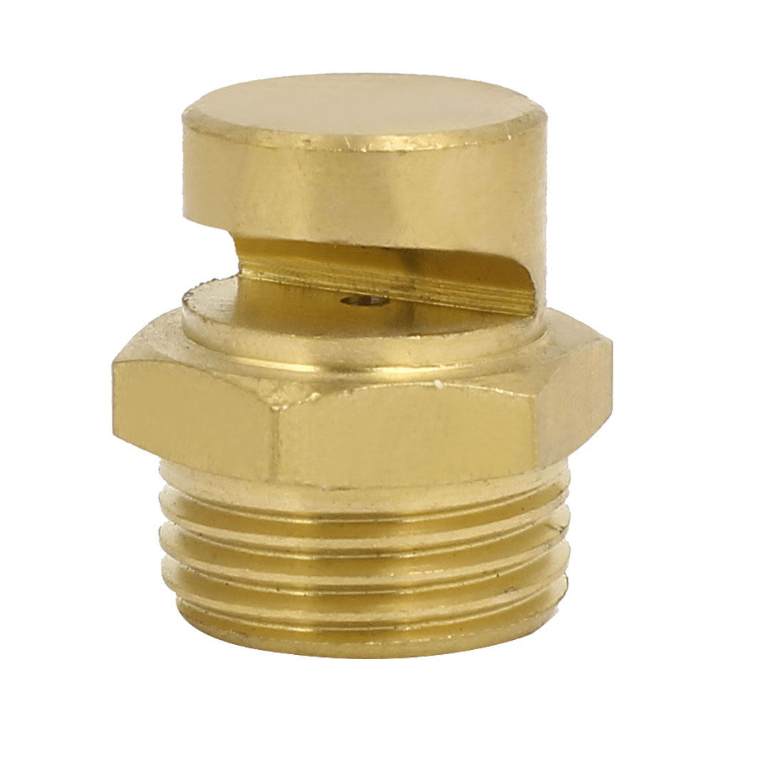 1/2BSP Male Thread 170 Degree Angle Flat Fan Spray Tip Brass Tone