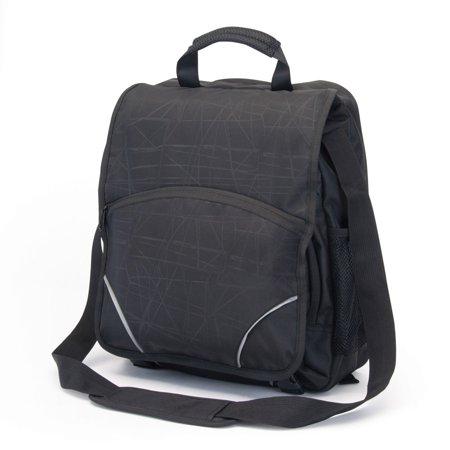 "Sweda CheckPoint Friendly AMSTERDAM 14"" Laptop Messenger Bag (TSA Friendly)"
