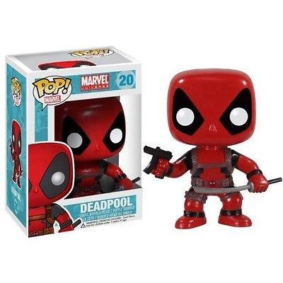 Deadpool Marvel Comics 20 Bobble Head Funko Pop! Licensed Vinyl Figure Brand New