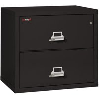 "Fireking 2 Drawer 31"" wide Classic Lateral fireproof File Cabinet-Parchment"