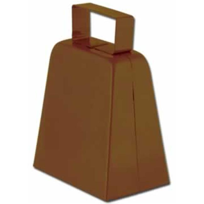 Beistle 60939-BR Cowbells- Pack of 12 by Beistle Co