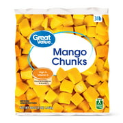Great Value Frozen Mango Chunks, 48 oz