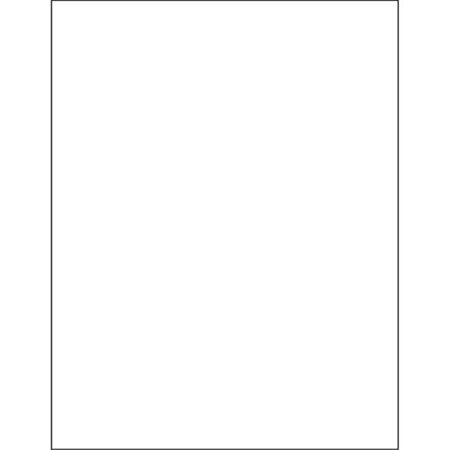 Box Partners LH231 8.5 x 11 in. Vinyl Envelope Insert Cards - Pack of 50 - image 1 of 1