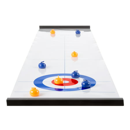 Tabletop Curling Game - Portable Desktop Board Game by Hey! (Best Tabletop Role Playing Games)