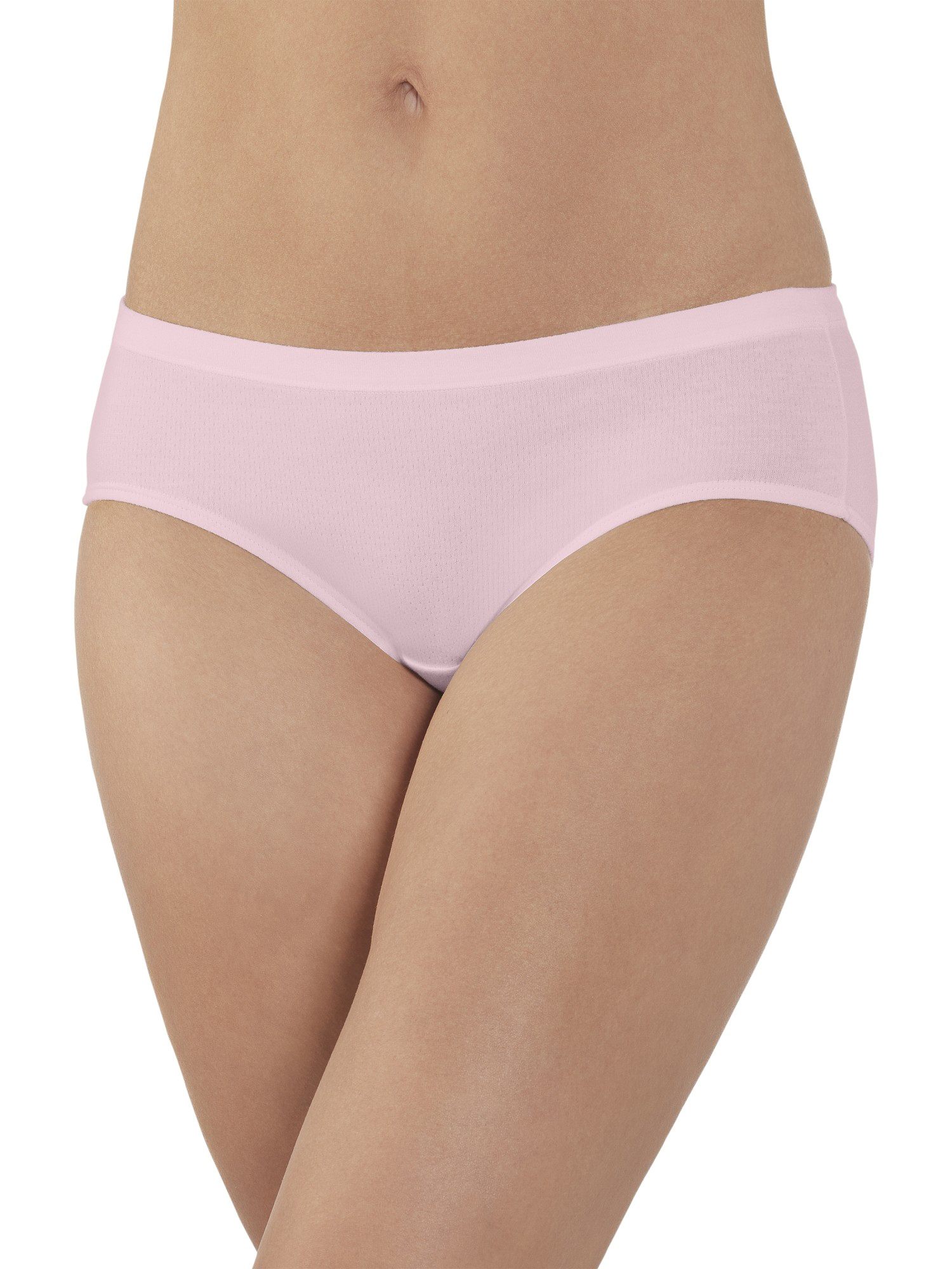 Women's Breathable Cotton-Mesh Hipster Panties - 4 Pack