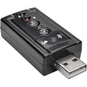 Tripp Lite U237-001 Vitrual Usb External Sound Card 7.1